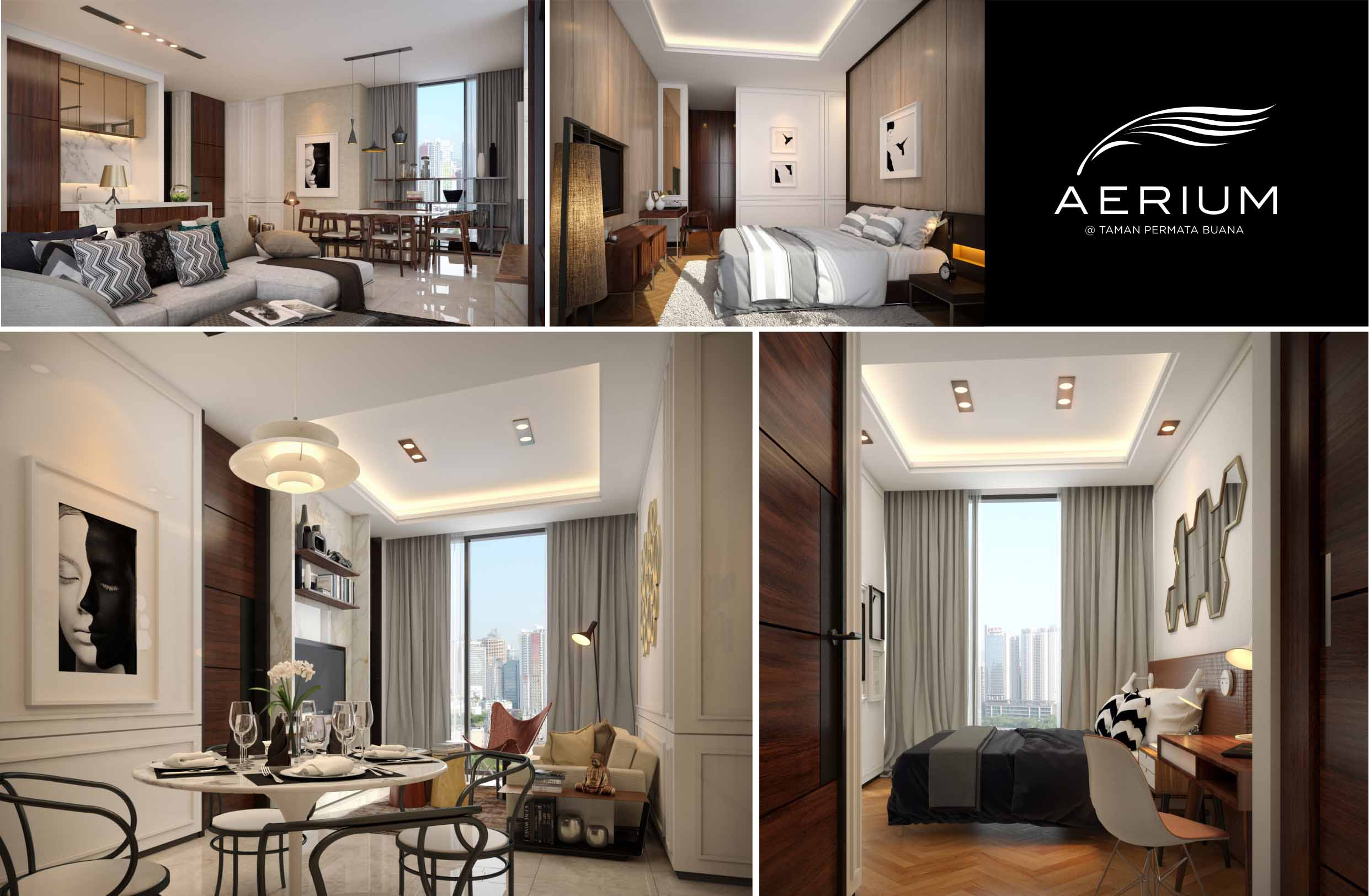 PTI Interiors Take On The Interior Design Of Aerium An Apartment Development At Taman Permata Buana West Jakarta Spearheaded By Sinarmas Land In